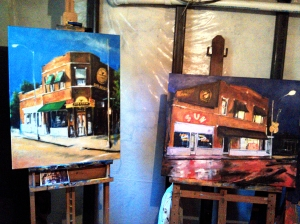 Sun Studios  - Robert Reeves - original oil paintings
