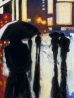 """Shadows in the Rain, oil on linen, 36"""" x 48"""" - 2009"""
