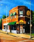 """Sun Studio 1, oil on linen, 20"""" x 24"""" - 2012"""
