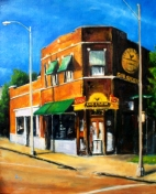 "Sun Studio 1, oil on linen, 20"" x 24"" - 2012"