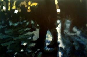 Robert Reeves, Untitled 15, acrylic on masonite, 2012